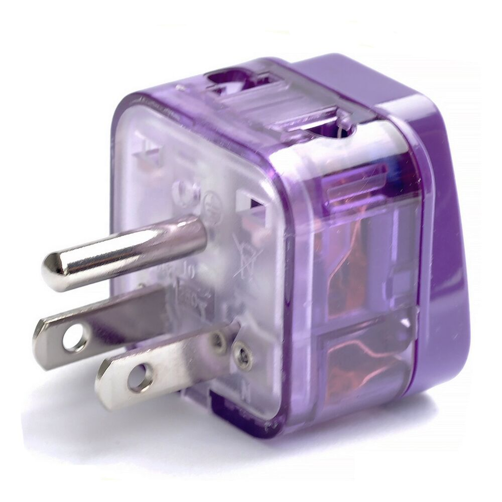 Travel Adapter Converter Plug Outlet Electric Socket Us