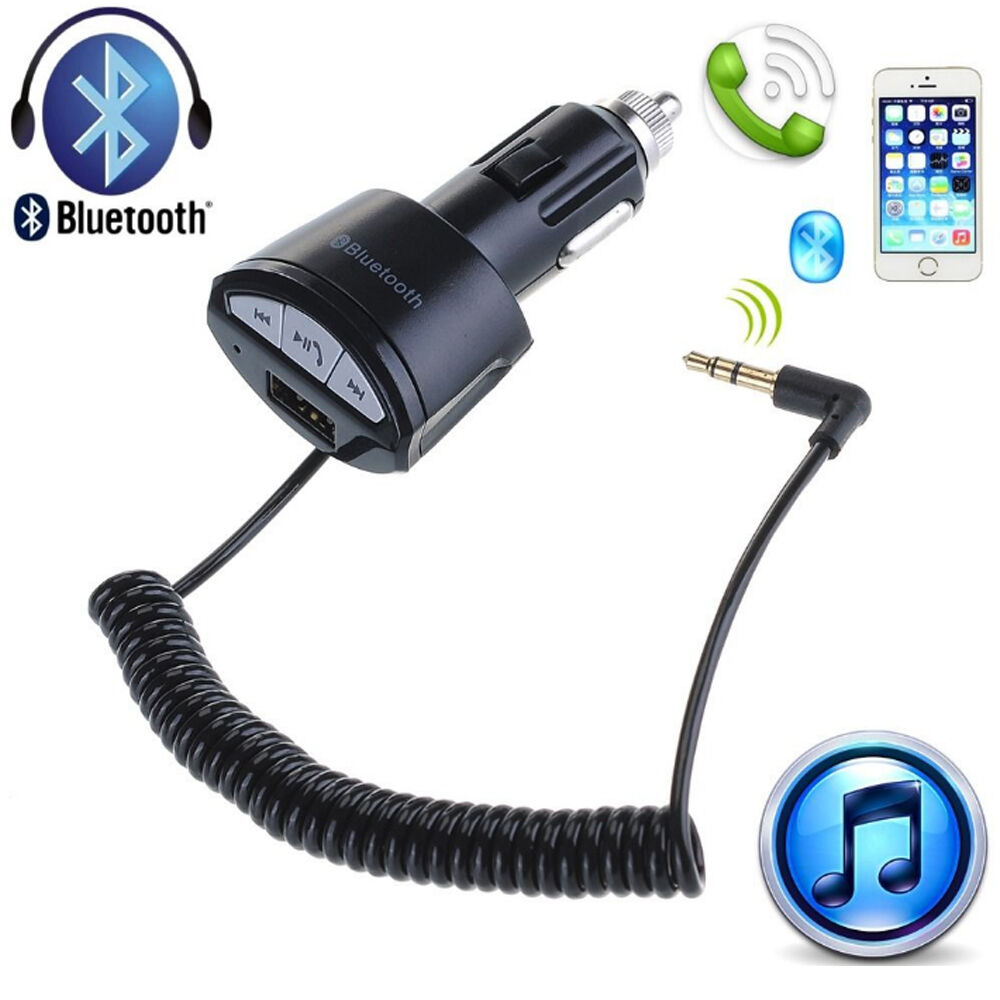 Aux To Usb Adapter Jaycar Footboard Adapter Kit Walmart Wifi Adapter With Monitor Mode Adapter Vs Battery Charger: A2DP 3.5mm Car Handsfree Bluetooth AUX Stereo Audio