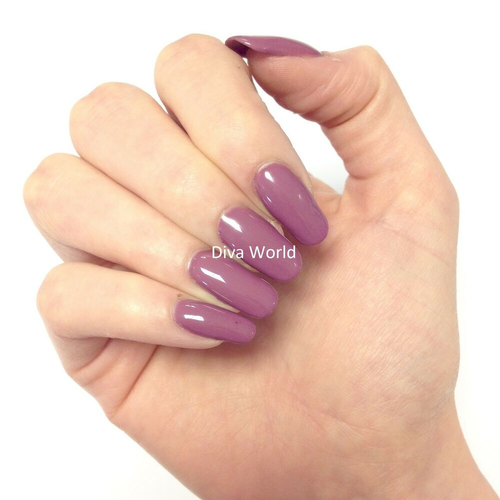 Bluesky Special Edition MAD ABOUT MAUVE UV/LED Soak Off Gel Nail ...