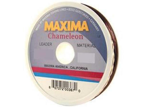 Maxima chameleon fly fishing leader tippet material 10lb for Maxima fishing line