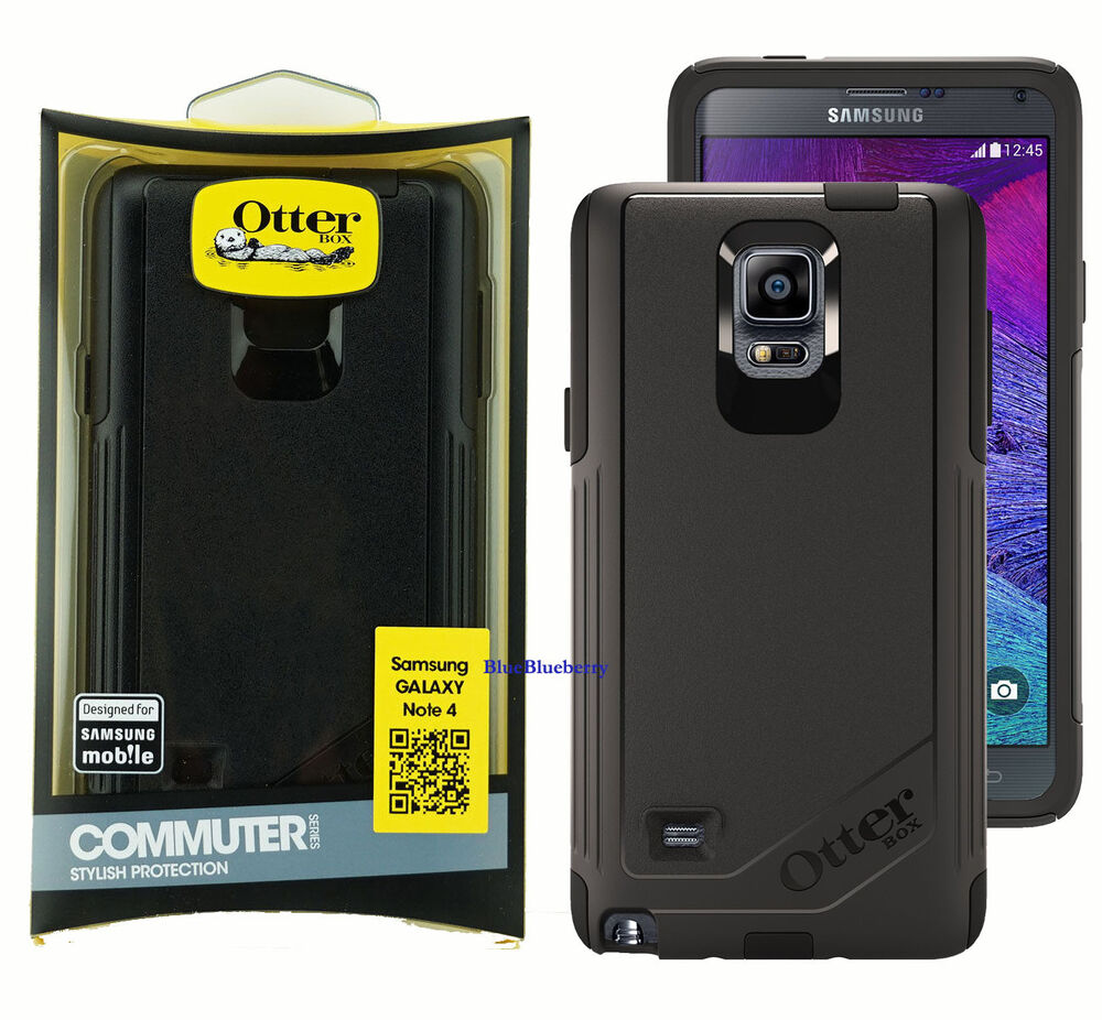 ... Commuter Case Cover For Samsung Galaxy Note 4 u2013 Black : eBay