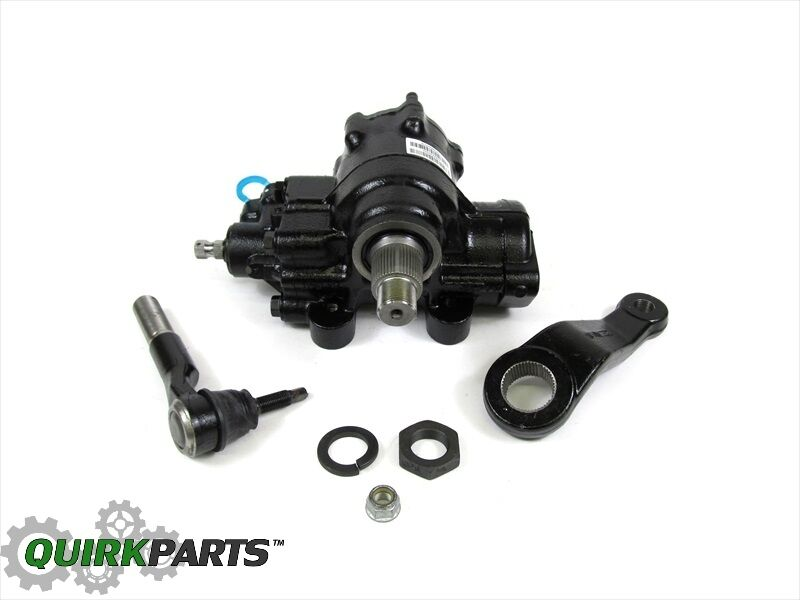 Dodge Ram 4x4 >> RAM 2500 3500 4X4 REVISED HEAVY DUTY STEERING GEAR BOX PITMAN ARM OEM NEW MOPAR | eBay