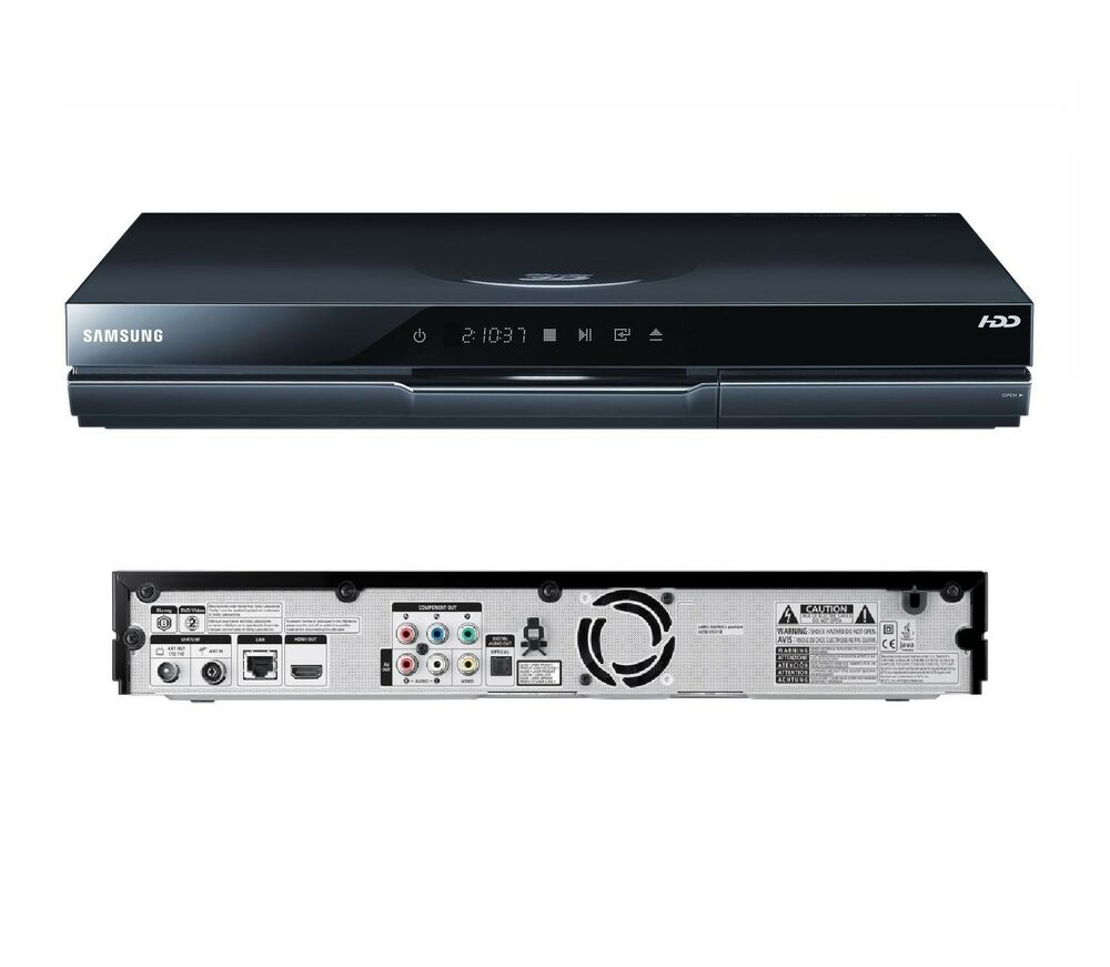 samsung bd d8500m twin tuner hd pvr 500gb hdd recorder smart 3d blu ray player a ebay. Black Bedroom Furniture Sets. Home Design Ideas