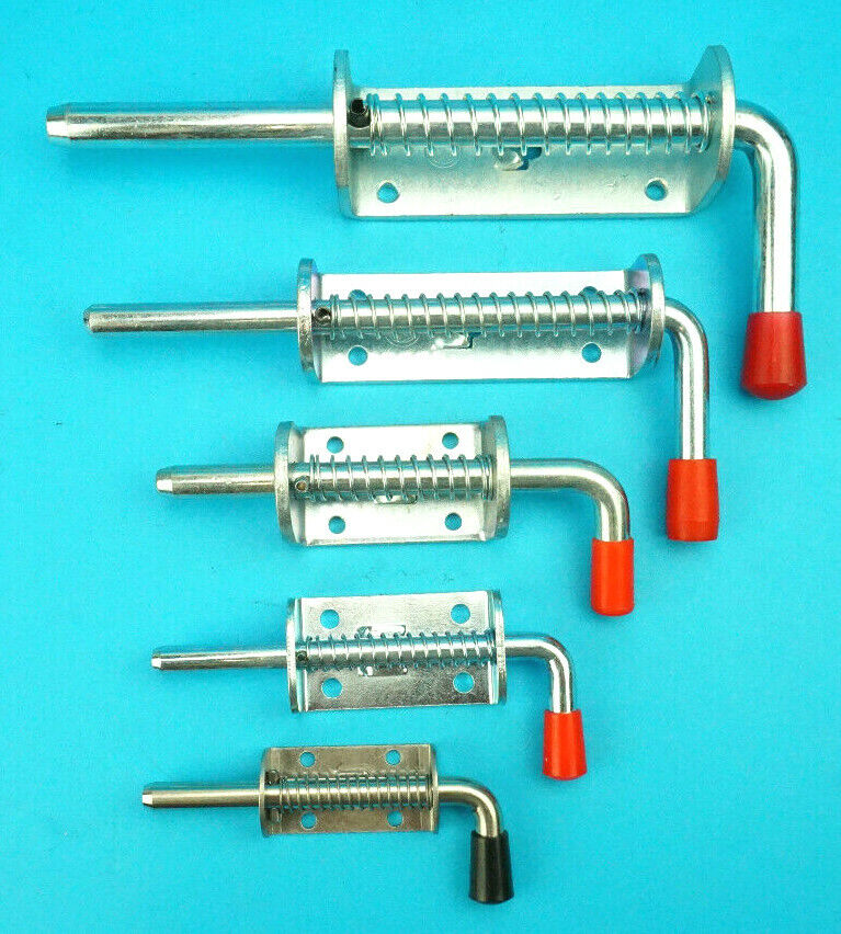 Free P Amp P Spring Loaded Shoot Bolts Gate Door Catch