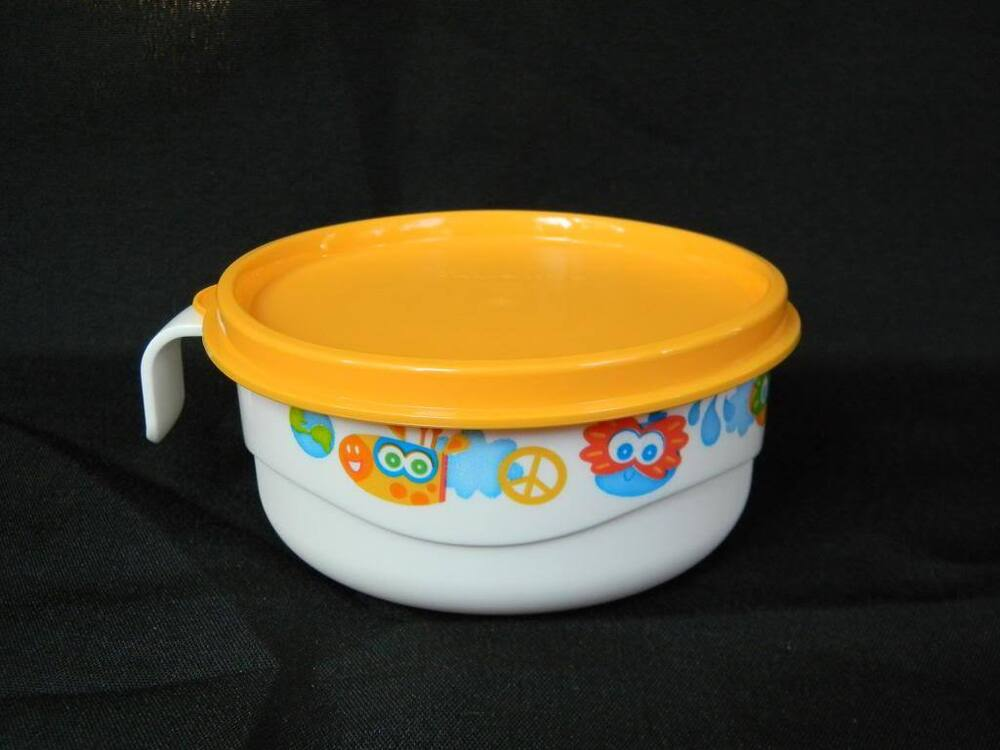 Tupperware Baby Toddler Early Stages Feeding Cup Bowl W