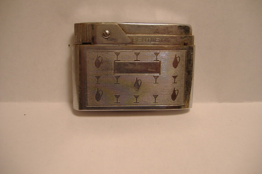 Vintage Bentley Lighter Made In Austria Patented Usa Ebay