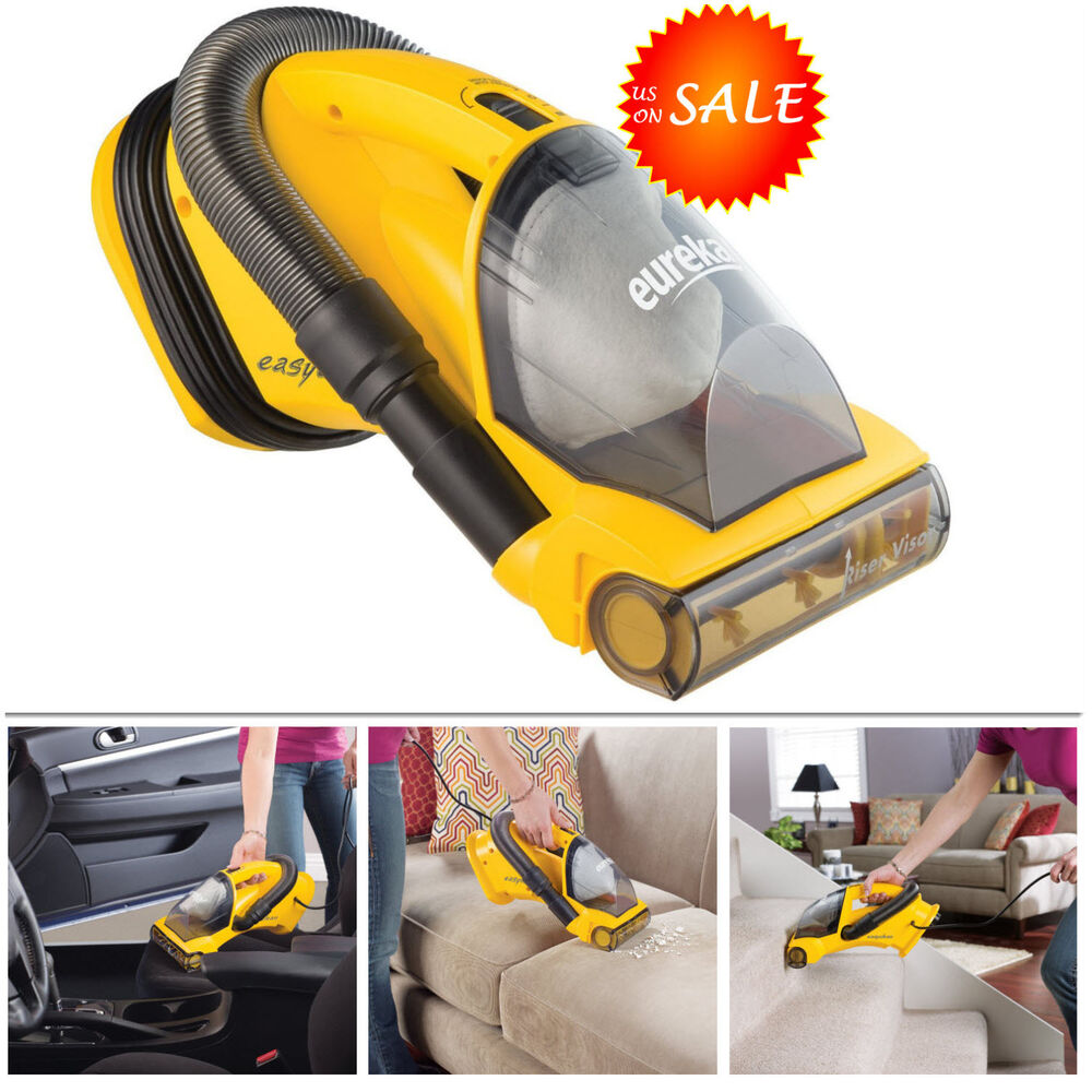 car handheld vacuum cleaner bagless floor carpet stair sofa auto upholstery vac 23169134393 ebay. Black Bedroom Furniture Sets. Home Design Ideas