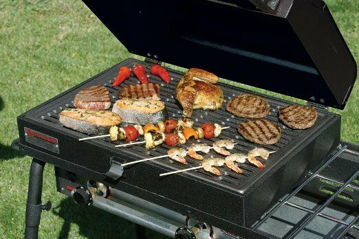 camp chef barbecue grill box for 3 burner stove gas bbq. Black Bedroom Furniture Sets. Home Design Ideas