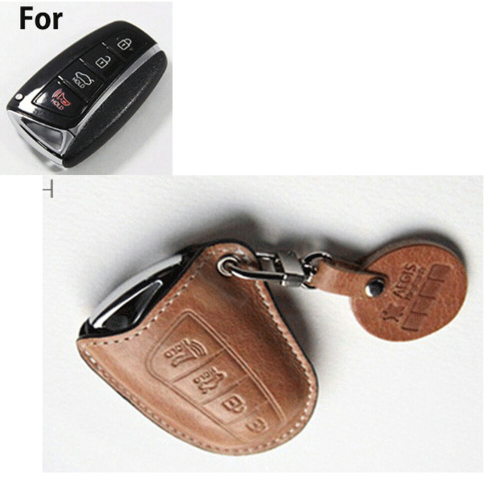 Handmade Premium Italy Leather Smart Remote Car Key Holder