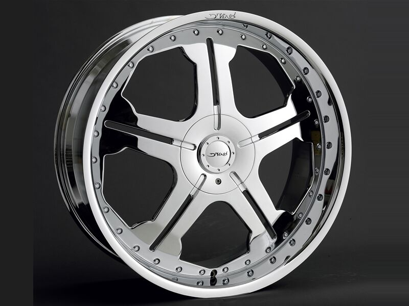 50 Inch Rims : Inch dvinci dv chrome wheels rims fits