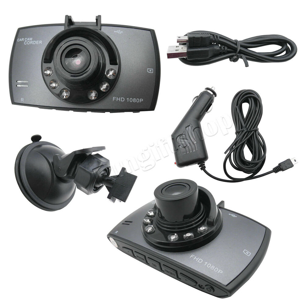 1080p hd car dvr vehicle video camera recorder ir night vision dash cam ebay. Black Bedroom Furniture Sets. Home Design Ideas