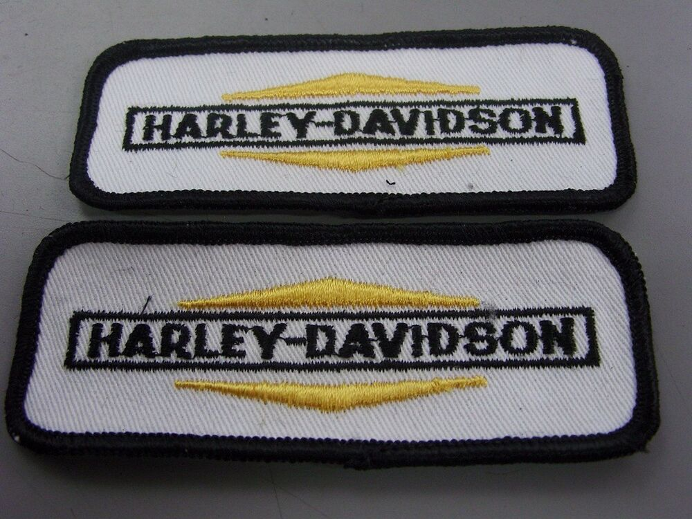 Vintage Harley Davidson Patches