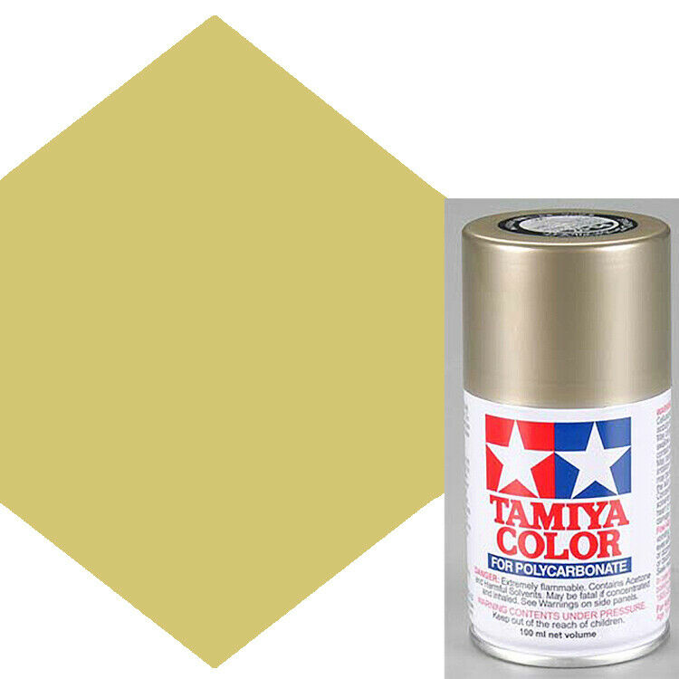 Tamiya polycarbonate ps 52 champagne gold anodized for Painting anodized aluminum