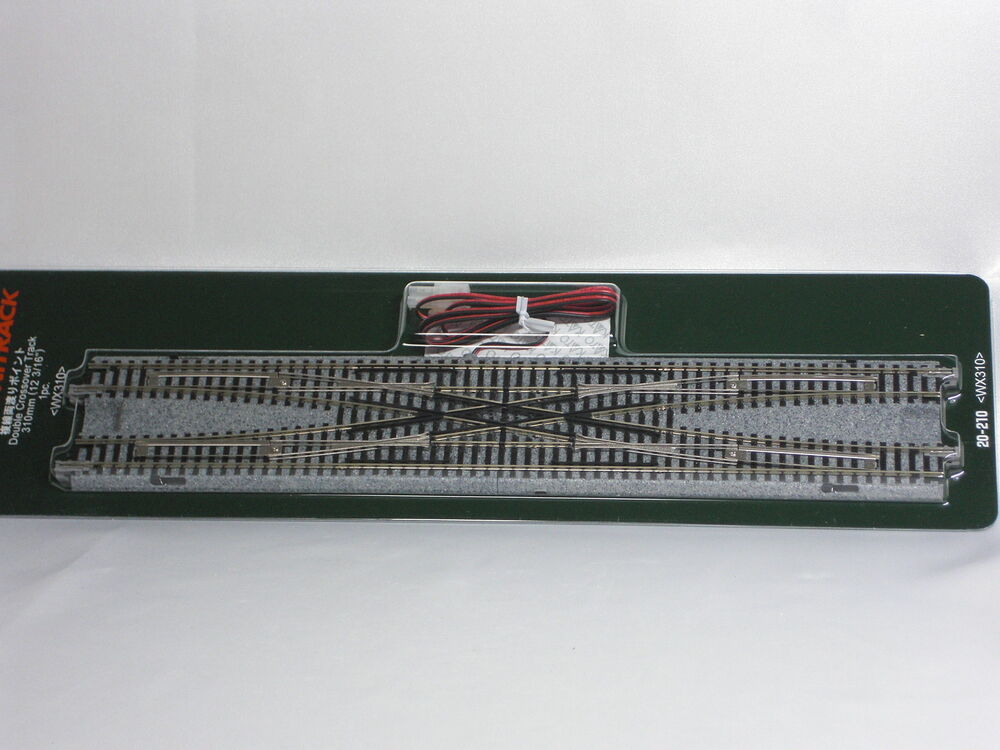 Kato n gauge Unitrack Double Crossover Track 310mm 20-210 ...