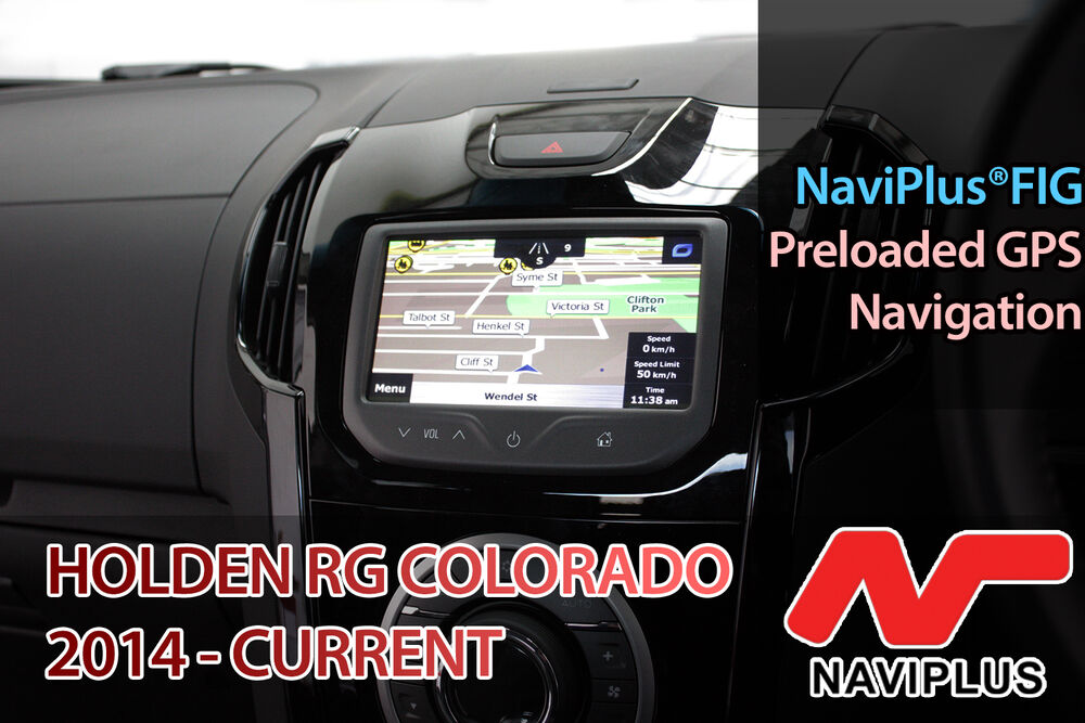 Holden Rg Colorado Mylink Gps Navigation Add On Sat Nav