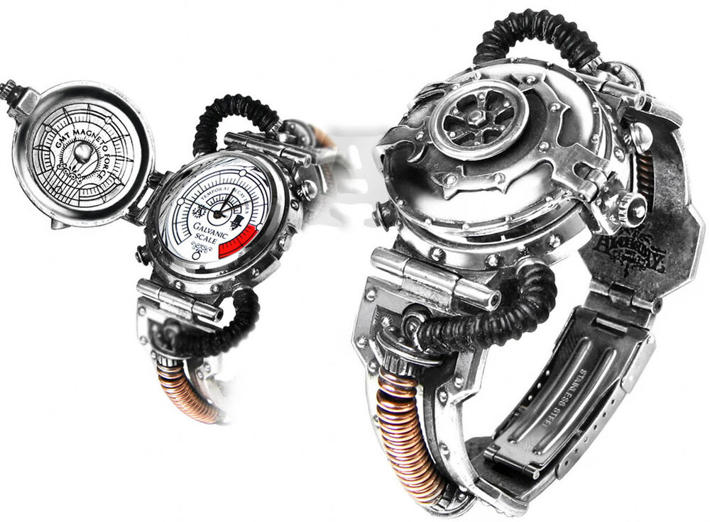 Ring In The Steampunk Decor To Pimp Up Your Home: EER Steam-Powered Entropy Calibrator Steampunk Watch By