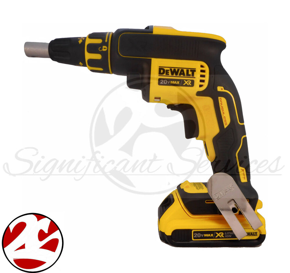 Dewalt dcf620 20v max li ion brushless drywall screwdriver for Dewalt 20v brushless motor