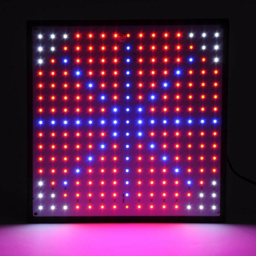 225 blue red orange white quad band led grow light panel