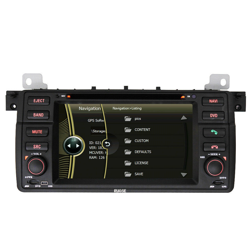 auto gps navigation radio dvd stereo for bmw 3 series e46 316i 318i 320i 325i ebay. Black Bedroom Furniture Sets. Home Design Ideas