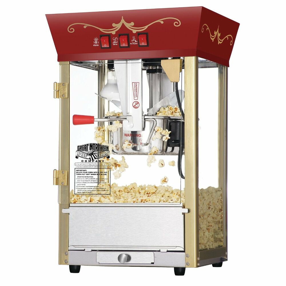 popcorn machine commercial grade