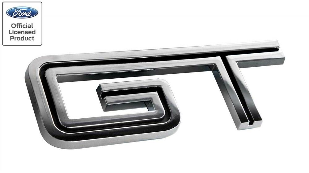ford mustang gt emblem coloring pages   2005-10 Ford Mustang GT Fender or Rear Trunk Emblem Badge ...