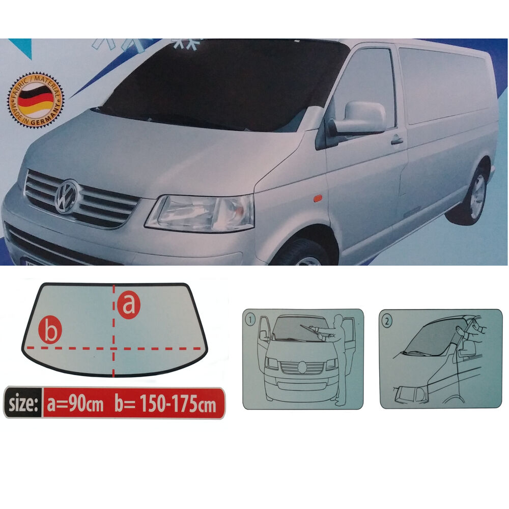 van windscreen anti frosticesnow cover protector windshield vw    ebay
