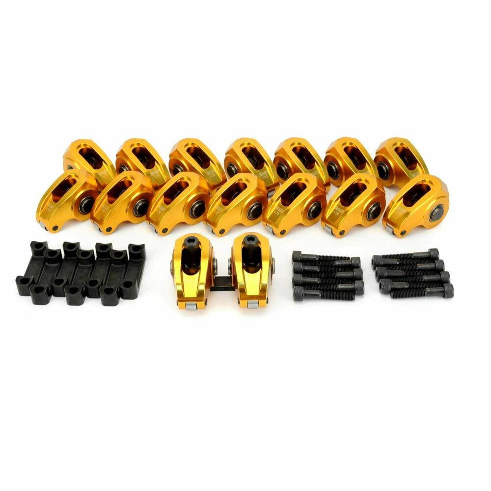 Chevy Ls6 Camshaft: COMP CAMS ULTRA-GOLD ALUMINUM ROLLER ROCKER ARMS GM LS LS1