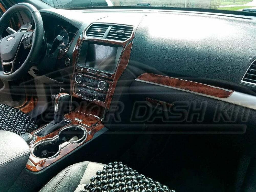 Ford Explorer Xlt Sport Interior Wood Dash Trim Kit Set 2011 2012 2013 2014 2015 Ebay