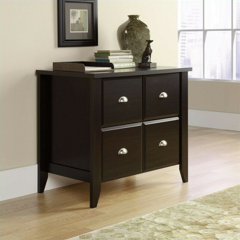 office storage cabinets filing cabinet office file storage lateral in jamocha wood 23954