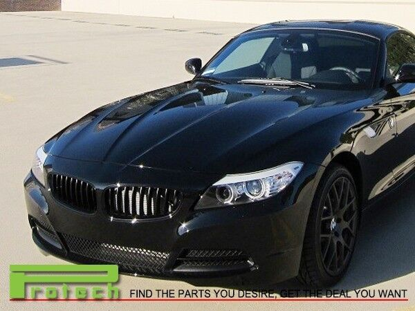 Fit 2009 Bmw E89 Z4 Convertible Front Jet Black Grille Grill Replacement Ebay