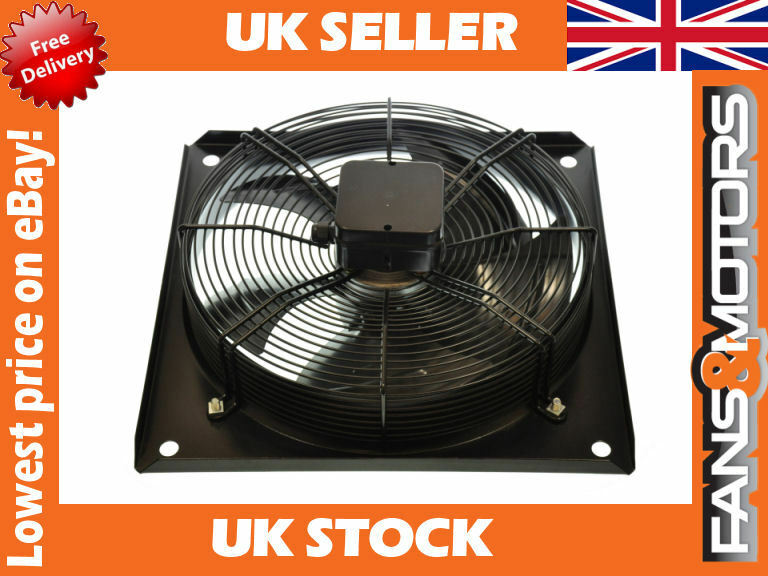 Kitchen Extractor Extract Motor Axial Exhaust Commercial Blower Plate Fan Ebay