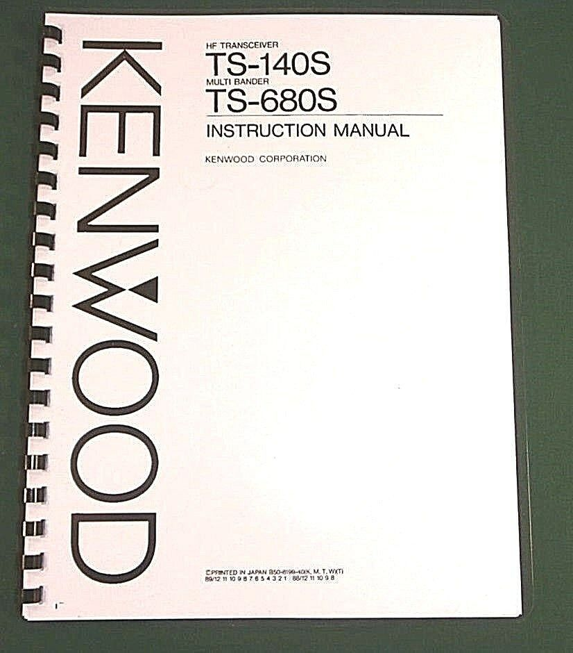 Kenwood R 1000 User Manual