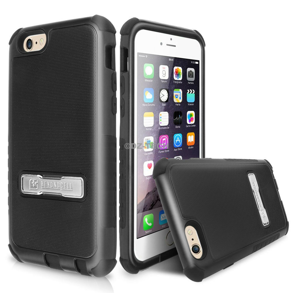 iphone case stand for apple iphone 6s amp plus hybrid shockproof bumper 4791