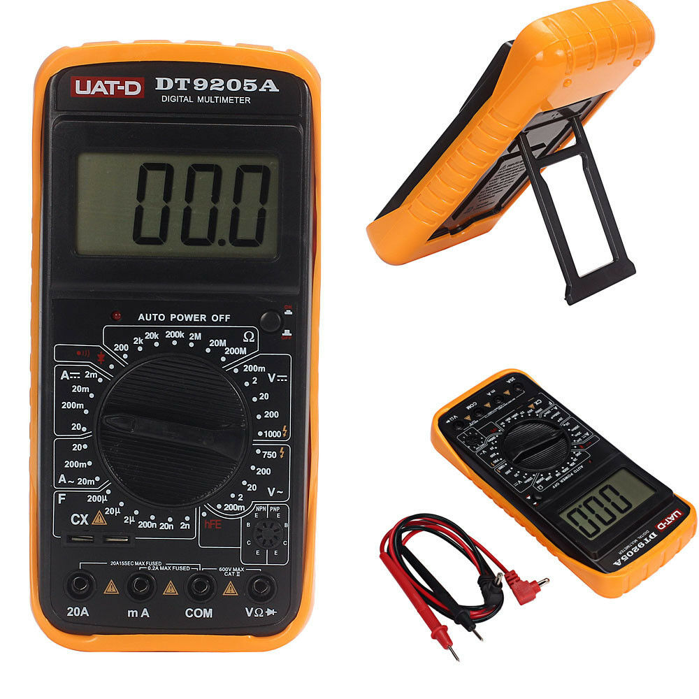 how to read resistance on a digital multimeter