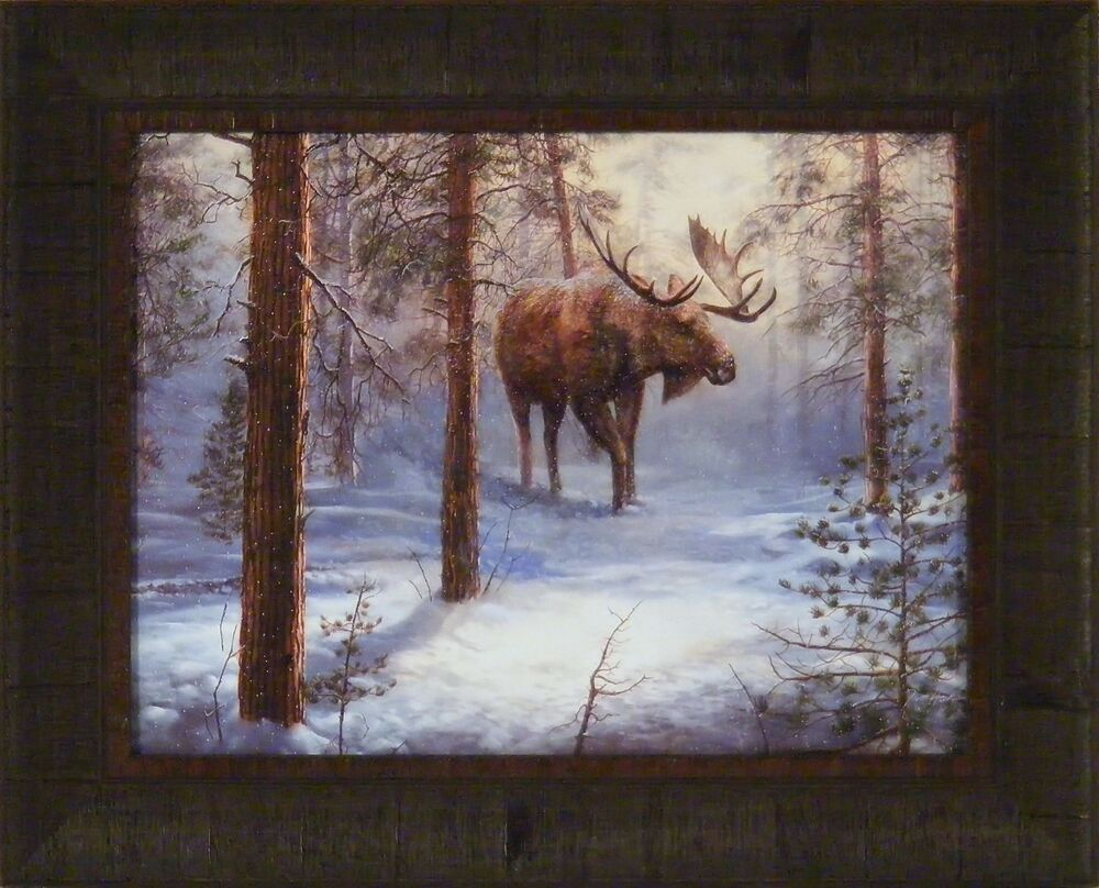 North Country By Jim Hansel 17x21 Framed Print Picture
