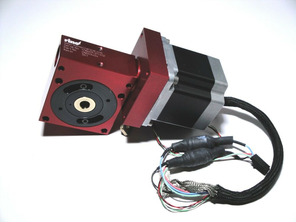 Rino Motorized Rotary Table Stage Cnc 4th Axis Sherline