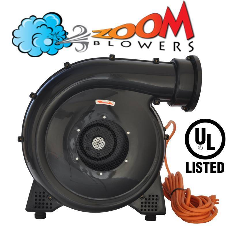 Bounce House Blower : Hp inflatable bounce house blower zoom air fan motor