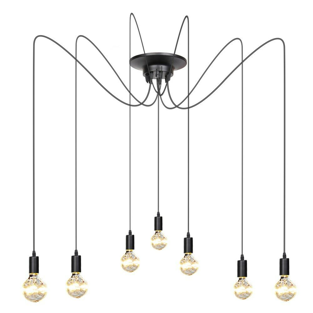 Vintage edison industrial loft pendant lighting chandelier Industrial style chandeliers