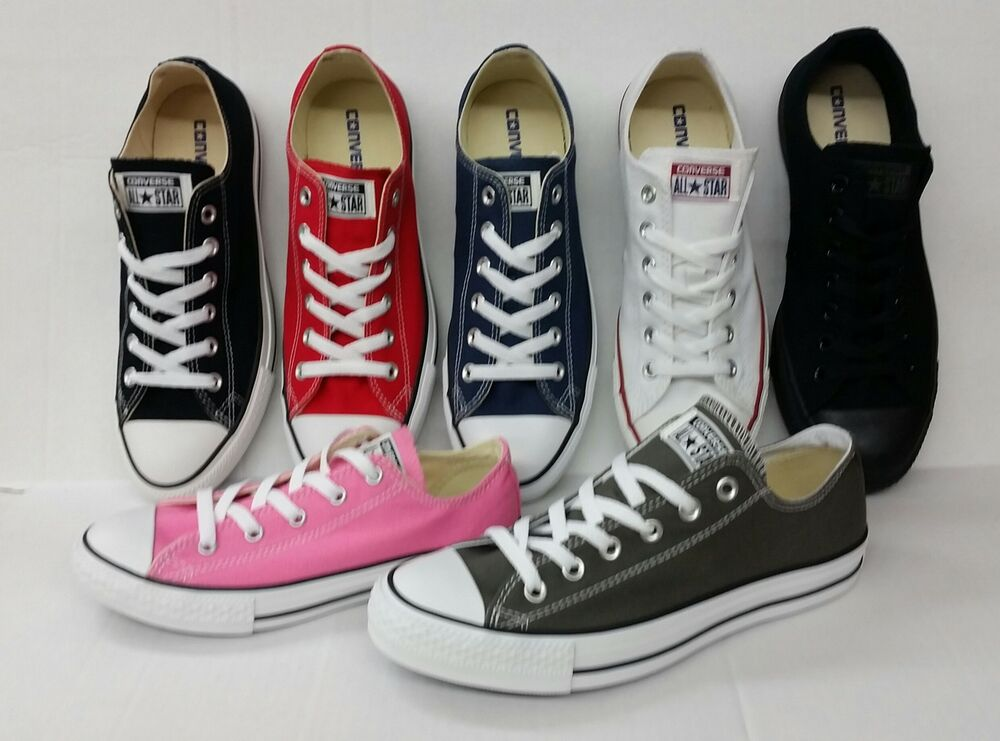 e78ad8d62db Details about CONVERSE ALL STAR CHUCK TAYLOR CANVAS SHOES LOW TOP ALL SIZE  MEN   WOMEN