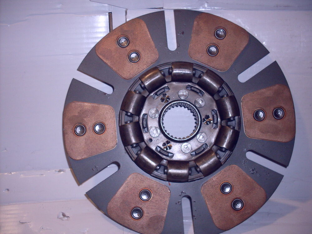 Oliver Tractor Clutch : White  american oliver