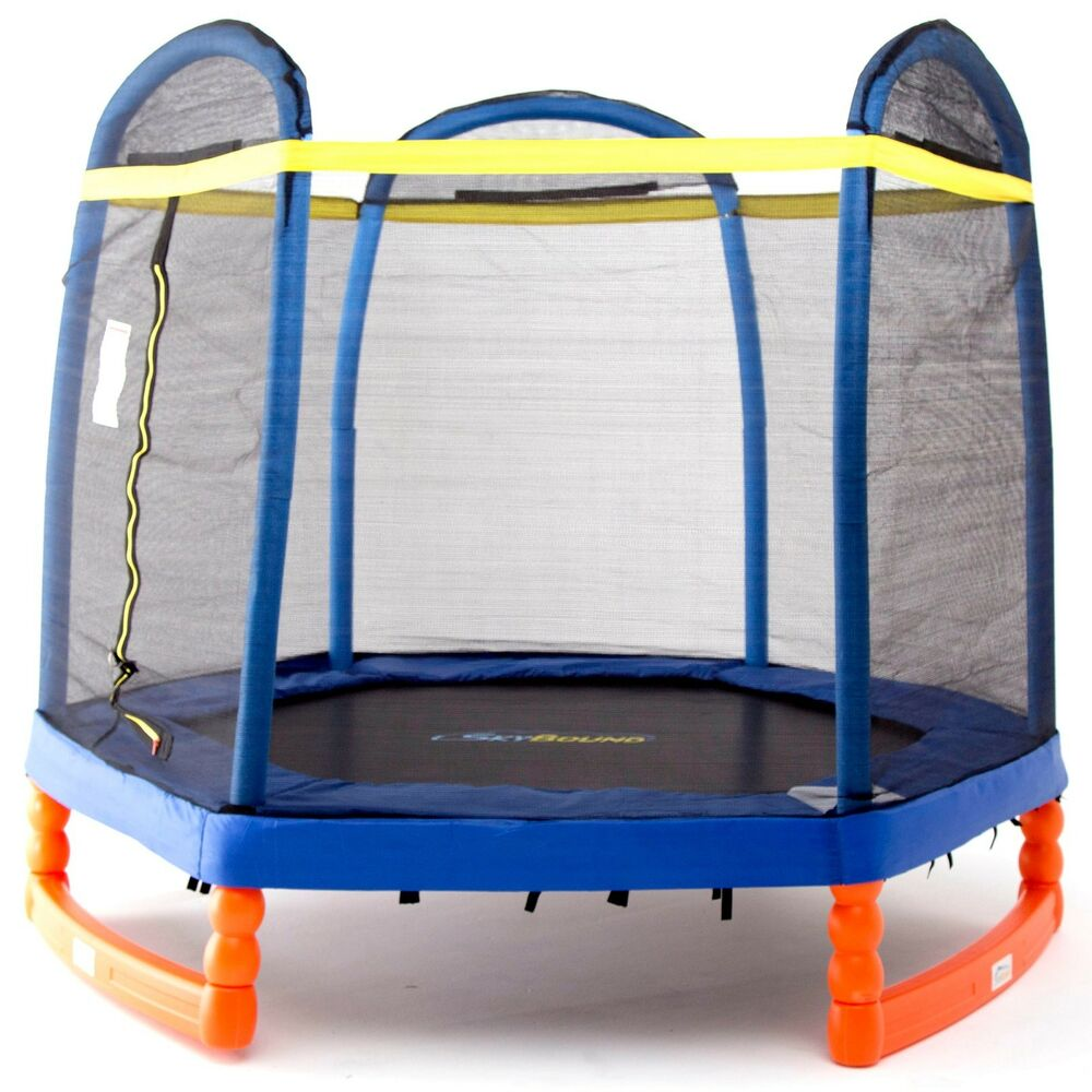 SkyBound Super7 7ft Indoor/Outdoor Trampoline With Safety