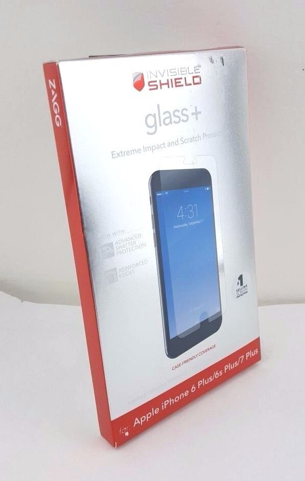 zagg iphone 6 zagg glass apple iphone 6 plus invisibleshield screen 13338