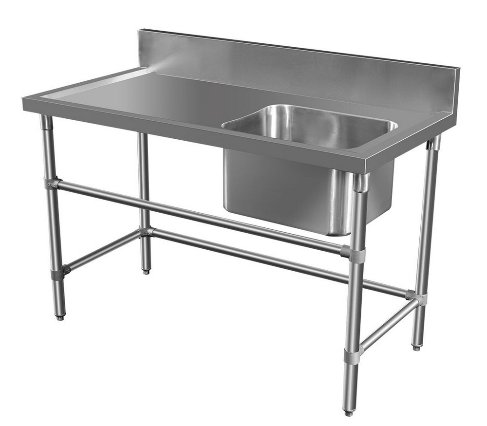 Stainless Steel Bench With Sink 28 Images 1900x600mm New Commercial Double Bowl Kitchen Sink