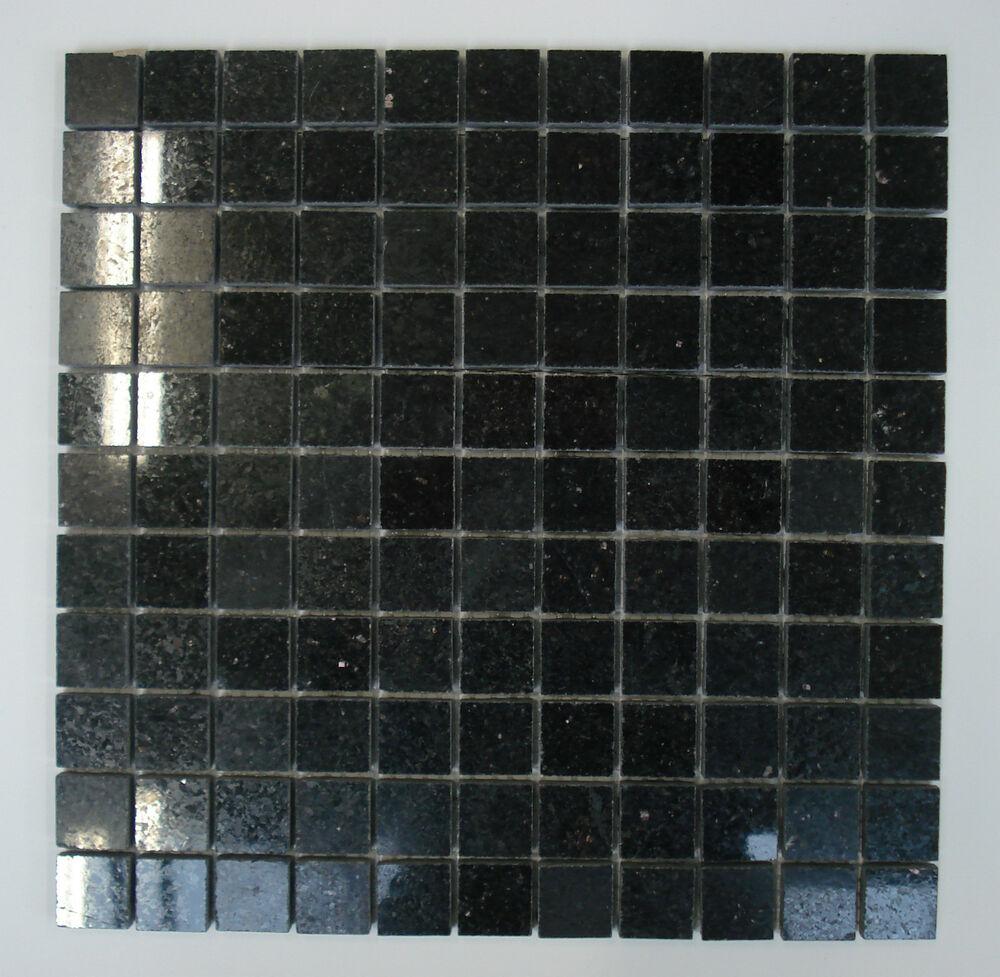 granit mosaik fliese star galaxy schwarz 30 x 30 x 0 8cm im mix matt poliert ebay. Black Bedroom Furniture Sets. Home Design Ideas