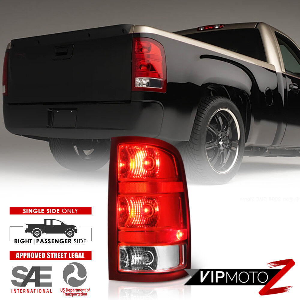 gmc 2009 2500 tail light wiring 2007-2013 gmc sierra 1500 2500 3500hd right passenger ... #4