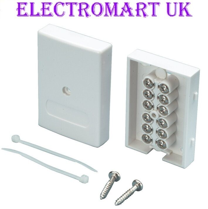 wiring telephone extension junction box bt telephone alarm cable junction box easy fit screw ...