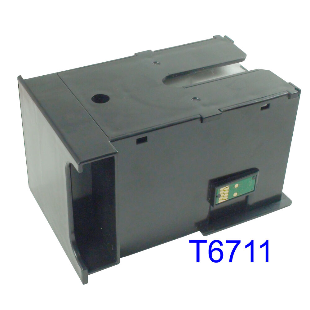 Maintenance tank Box For EPSON WF-3621 3620 3640 7110 7610