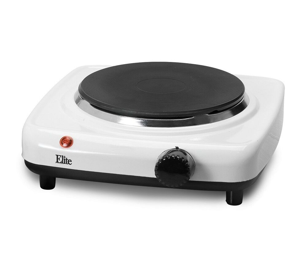 Electric Hot Plate ~ New single burner hot plate cast electric stove kitchen