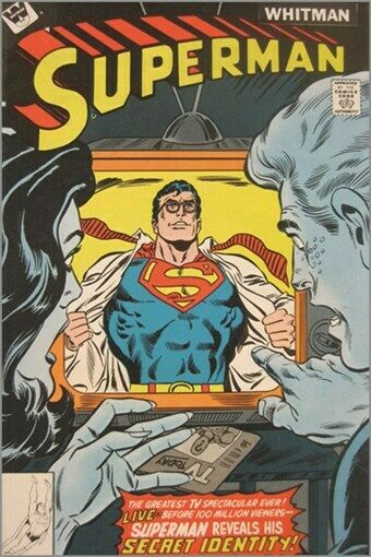 superman vintage comic cover poster animated characters