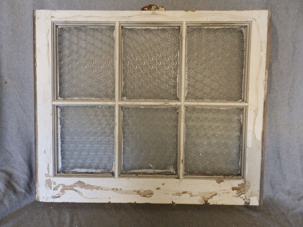 Antique window sash florentine privacy glass 20 x 24 old for 18 x 60 window